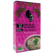 Autour du Riz - Dal de riz et lentilles Saveur indienne 250g