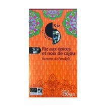 Autour du Riz - L'Asie - Riz aux 7 épices & Noix de cajou Pendjab 250g