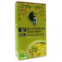 Autour du Riz - Riz et Fruits secs Façon Tajine Marrakech 250g