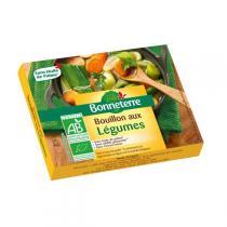 Bonneterre - Bouillon aux légumes BIO - 6 cubes