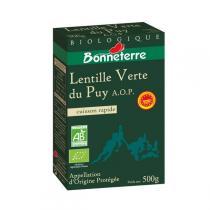 Bonneterre - Lentilles verte du Puy A.O.P 500g