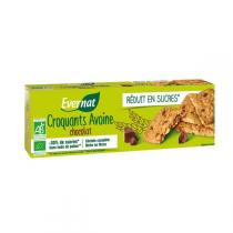 Evernat - Croquant avoine chocolat BIO - 130g