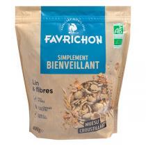 Favrichon - Muesli Lin & Fibres 400g