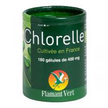 Flamant Vert - Chlorelle 400mg x 180 Gélules