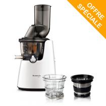 Kuvings - Pack Extracteur de jus Kuving's C9500 blanc + Kit smoothies