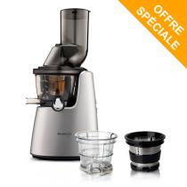 Kuvings - Pack Extracteur de jus Kuving's C9500 gris + Kit smoothies