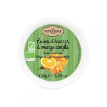 La Patelière - Cubes d'écorces d'oranges confits BIO 150g