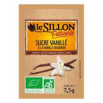 Le sillon - Sucre vanillé - 8 x 7,5g