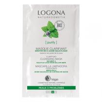 Logona - Masque Nettoyant Clarifiant Menthe Acide salicylique 2x7,5ml