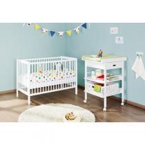 Pinolino - Chambre Madeleine & Lenny lit bébé + table à langer