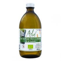 Pur Aloé - Gel d'Aloe Vera à Boire Bio et Equitable Pasteurisé 500mL