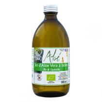 Pur Aloé - Jus à Boire d'Aloe Vera Bio et Equitable Pasteurisé 500mL