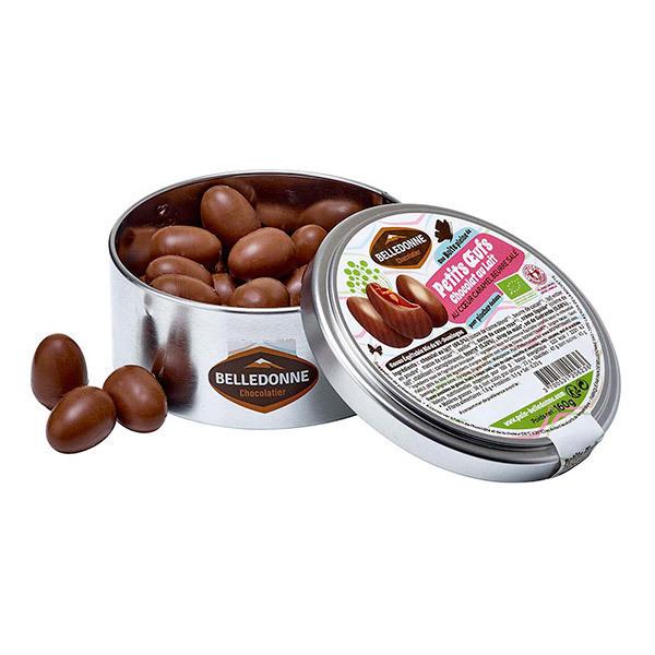 Belledonne - Petits oeufs chocolat au lait et caramel beurre salé 160g
