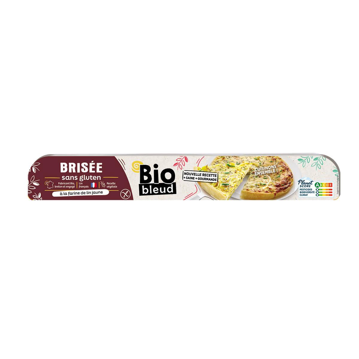Biobleud - Pâte brisée sans gluten 260g