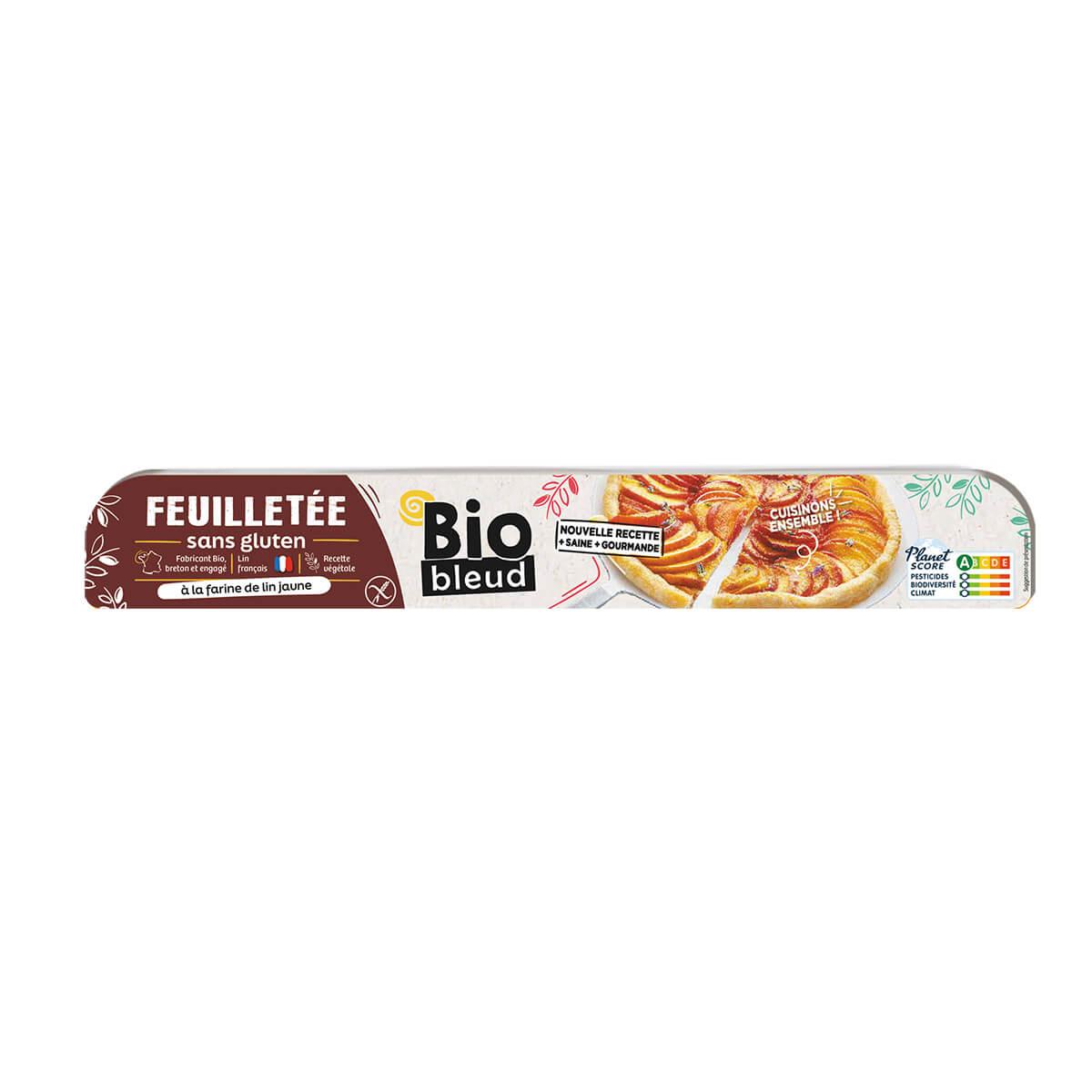 Biobleud - Pâte feuilletée sans gluten 260g