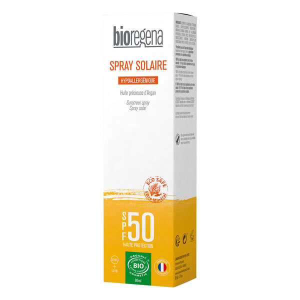 Bioregena - Spray solaire SPF50 visage & corps - 90ml