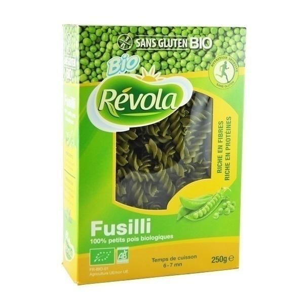 BioRevola - Fusilli Petits Pois Bio sans gluten - 250 gr