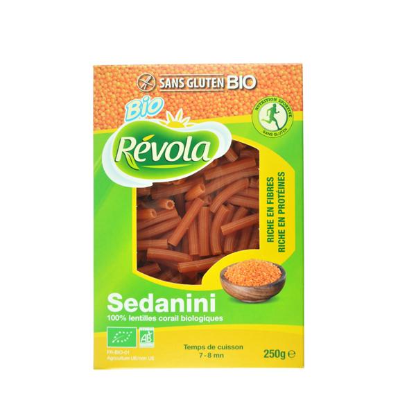 BioRevola - Sedanini Lentilles Corail Bio Revola 250g