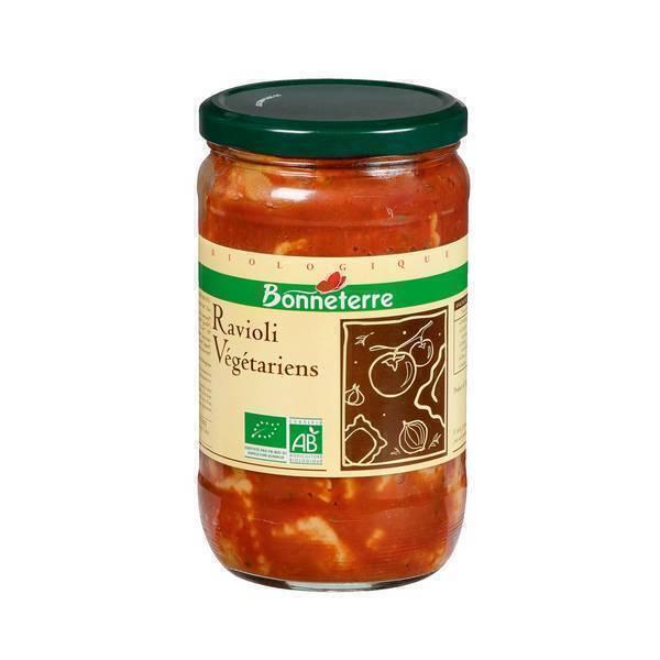 Bonneterre - Ravioli végétariens 650g