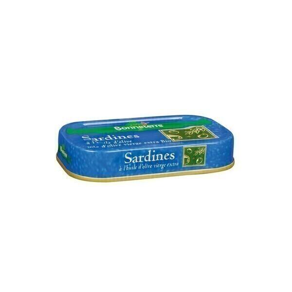Bonneterre - Sardines à l'huile d'olive 69g