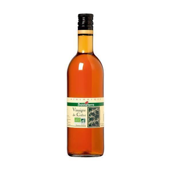 Bonneterre - Vinaigre de cidre non pasteurisé 50cl