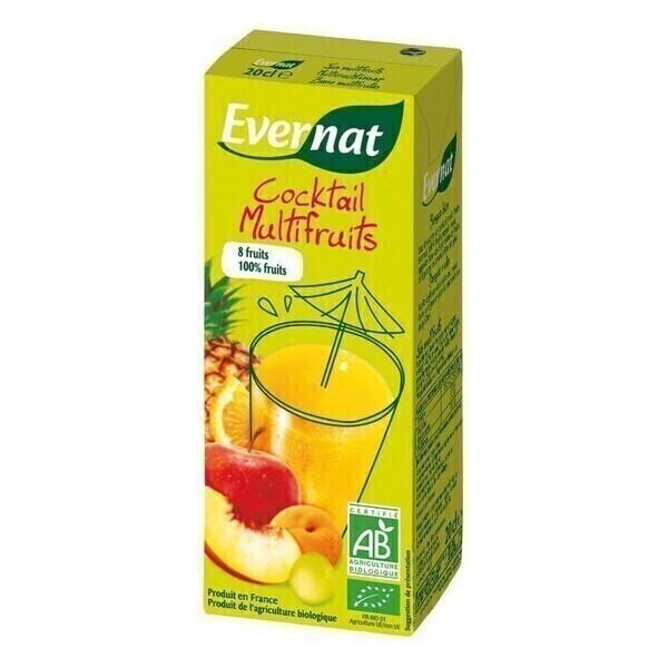 Evernat - Cocktail multifruits 20cl