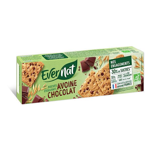 Evernat - Croquant avoine chocolat 130g