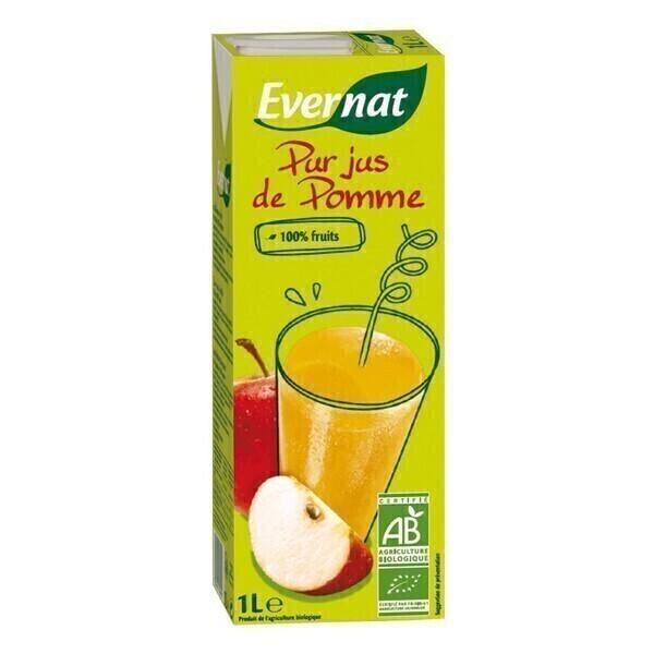 Evernat - Pur jus de pomme 1L