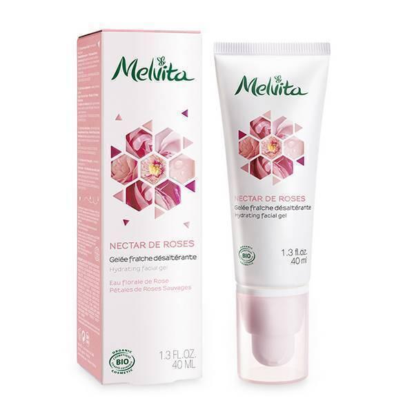Melvita - Gelée fraîche désaltérante Nectar de Roses 40ml