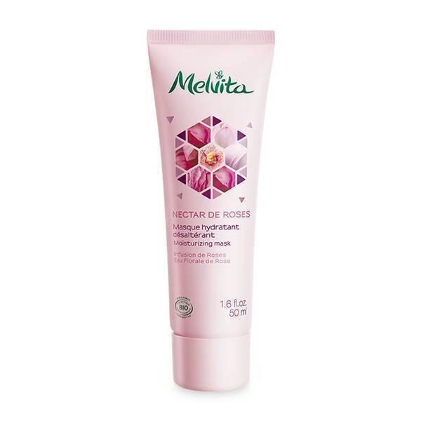 Melvita - Masque hydratant désaltérant Nectar de Roses 50ml