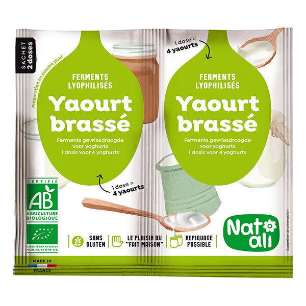 Natali - Lot de 3 x Ferments Préparation Yaourt 2x6g
