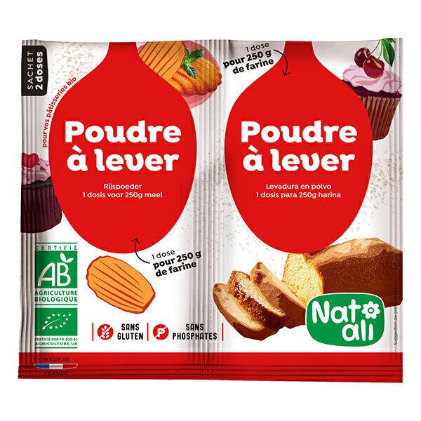 Natali - Pack 3 x Poudre à lever 2x7grammes