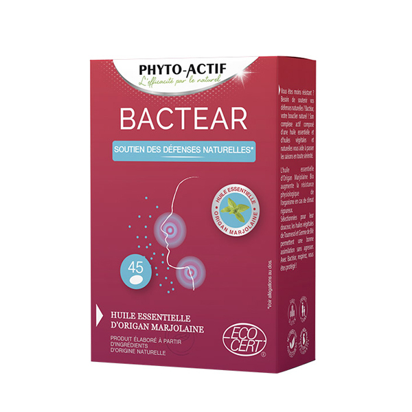 Phyto-Actif - Bactear x 45 Capsules
