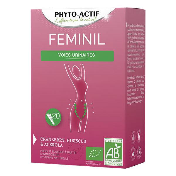 Phyto-Actif - Feminil Bio x 20 sticks