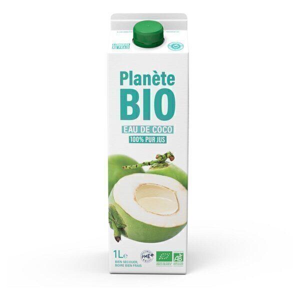 Planète Bio - Eau de coco BIO 1L