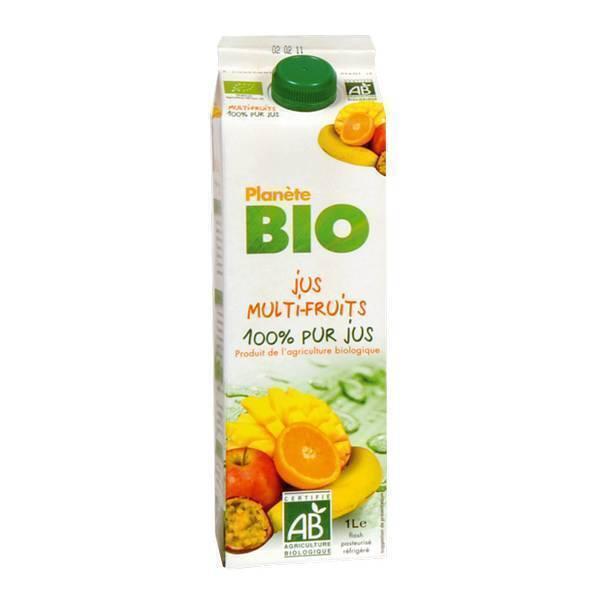 Planète Bio - Jus multifruits BIO 1L