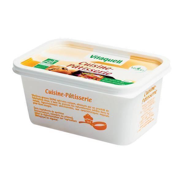 Vitaquell Frais - Margarine Cuisine-Pâtisserie BIO - 500g