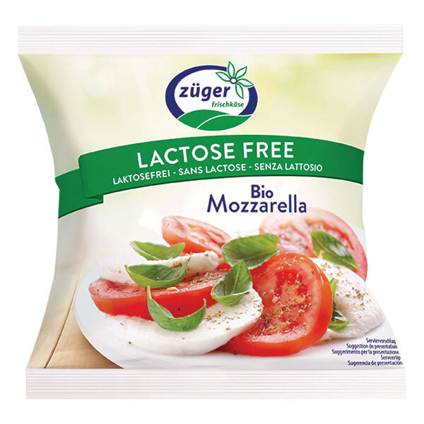 Zuger - Mozzarella sans lactose 100g