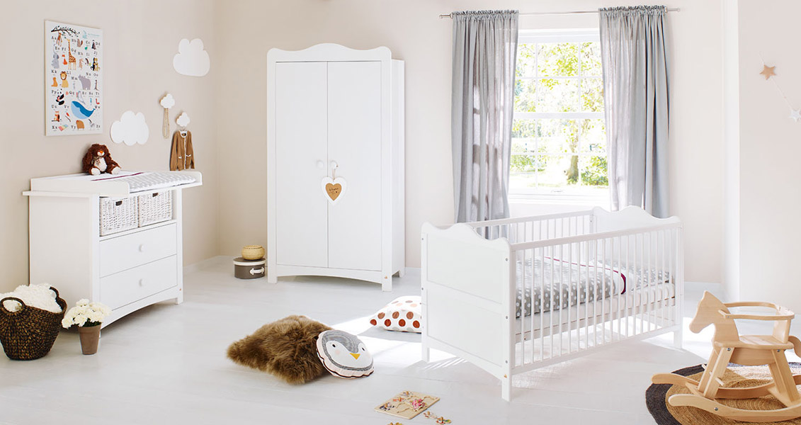 Pinolino - Chambre Florentina 3pc - lit, commode et armoire