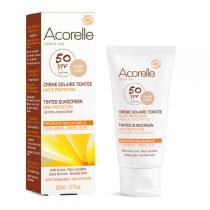 Acorelle - Crème Solaire Teintée SPF50 - 50 ml