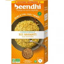 Beendhi - Riz Basmati aux Lentilles Bio 250gr