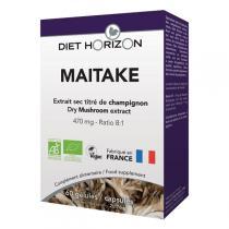 Diet Horizon - Maitake - Extrait sec titré de champignon - 60 gélules