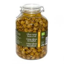 Epikouros - Olives vertes à l'ail 4,7kg