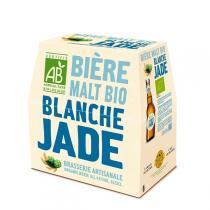 Jade - Bière pur malt blanche bio Jade 6x25cl