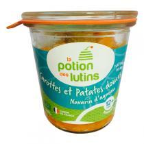 La Potion des Lutins - Patate douce Navarin d'agneau 12+ Bio 200g