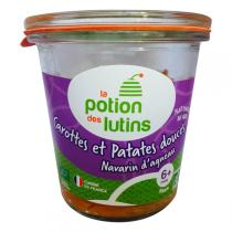 La Potion des Lutins - Patate douce Navarin d'agneau 6+ Bio 160g