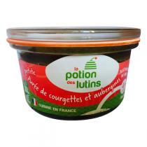 La Potion des Lutins - Petite purée de courgette et aubergine Bio 100g