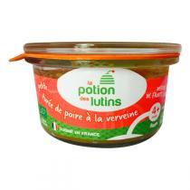 La Potion des Lutins - Petite purée de poires à la verveine Bio 100g