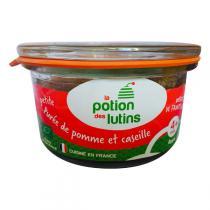 La Potion des Lutins - Petite purée de pommes et caseilles Bio 100g