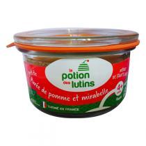 La Potion des Lutins - Petite purée de pommes et mirabelles Bio 100g